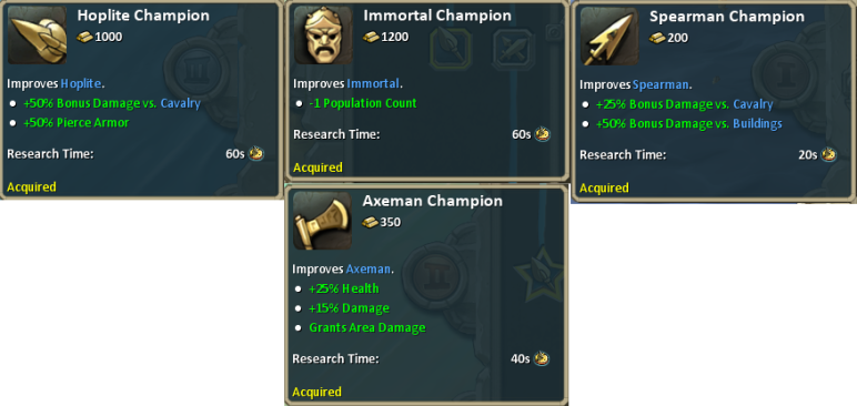 Champion Techs