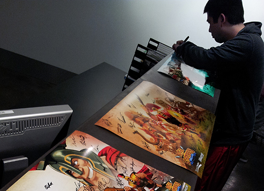 Noc Signing Posters