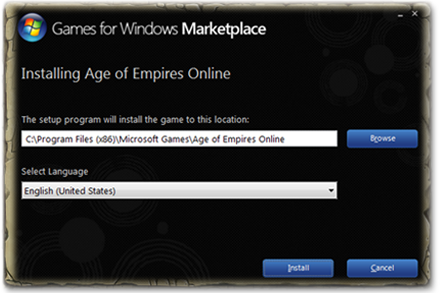 Install Age of Empires Online